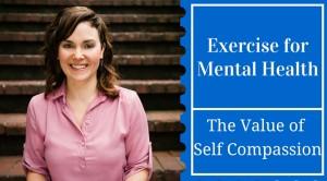 Exercise for mental health Colette Mrazek
